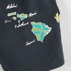 Miss Mod Volcom Swim - Volcom  |  Miss Mod Black Swim Board Shorts